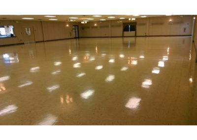 Gymnasium Floor Cleaning
