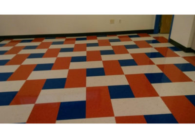 commercial floor tile cleaning