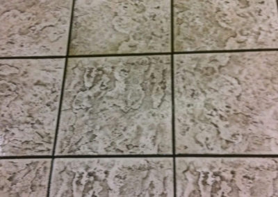 tile cleaning before image