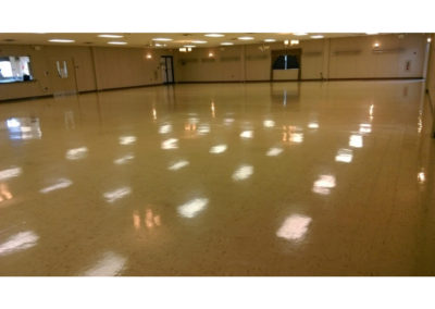 Gymnasium Floor Cleaning