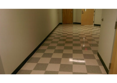 commercial floor cleaning after image